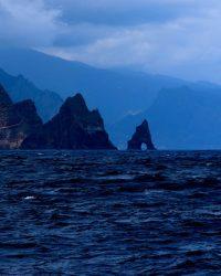 Madeira, von Nord-Osten kommend.