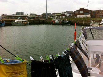 Lowestoft Hafen.