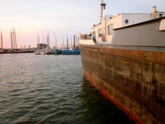 Der Hafen von Texel.