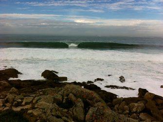 Atlantik-Wellen.