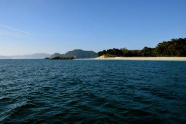 Ankern vor der Isla Cies.