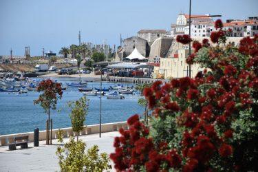 Blick auf den Fischerhafen.