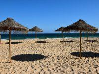 Am Strand der Ilha Deserta.