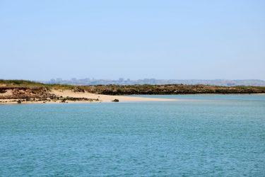 Die Lagune von Alvor.