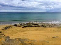 Am Strand ist´s karibisch.