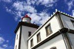 Leuchtturm bei Ferraria im Westen der Insel.