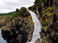 Terceira. Zugang zur Badeplattform ;-).