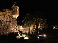 Horta bei Nacht.