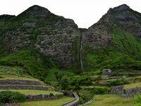 Der Wasserfall von Faja Grande...