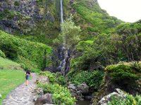 Wasserfälle bei Faja Grande.