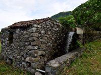 Wassermühle. Faja Grande.