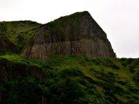Ein Wahrzeichen: Die Basaltfelsen von Flores.