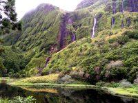 Von oben kommt´s nass.... Wanderung zu den Wasserfällen.