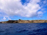 Ilha Selvagem, kurz vor dem Landfall.