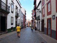 Die Straßen von Santa Cruz, La Palma.