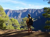 Im Naturpark Caldeira de Taburiente. Tolle Aussichten.
