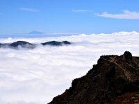 Über den Wolken von La Palma.