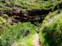 Auf dem Weg zu den Höhlen.