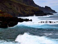 Wellenspektakel. Hier besser nicht baden!