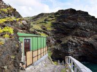 Hier wohnen tatsächlich Fischer - mitten in den Felsen, nur zu Fuss erreichbar.