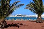 Der Yachthafen von Arrecife.