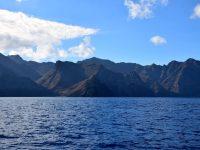 Landfall in Tenerife. Voraus die Bahia de Antequera, ganz im Norden.