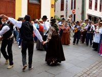 Musik und Tanz auf den Straßen von Santa Cruz de Tenerife. Mai 2017.