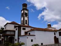 Die Iglesia de la Concepcion in Santa Cruz.