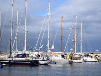 TinLizzy im Hafen von Santa Cruz de Tenerife.