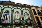 Jugendstilfassaden in Triana, Las Palmas.