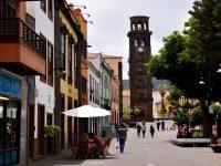 Altstadtgassen in La Laguna, Tenerife.