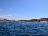 Der Playa Tejina in der Ankerbucht vorm Montana Roja.