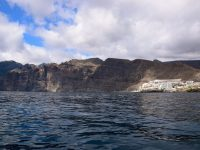 Wir nähern uns Los Gigantes, Tenerife.