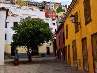 In den Gassen von San Sebastian, La Gomera.