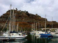Im Hafen von La Gomera in San Sebastian.