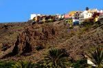 Stadt am Berg: San Sebastian, La Gomera.