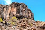 Wilde Gesteinsformationen, nördlich des Punta de Abalo.