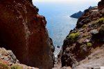 Wilde Felsformationen und tiefe Barrancos. Nördlich von San Sebastian.