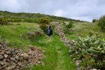 Wandern auf El Hierro. Im Frühling kann´s manchmal ganz schön kühl werden.