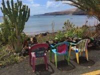 Meerblick. Am Playa Quemada, Lanzarote.