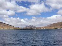 Kurs auf die Ankerbucht: Pozo Negro, Fuerteventura