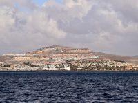 Fuerteventuras Tourismussünden, bei Puerto de Rosario.