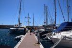 In der Marina von San Miguel, Tenerife.