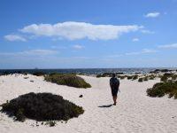 Am Strand, bei Orzola.