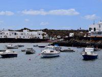 Der Hafen von Orzola.