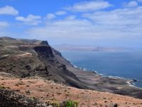 Lanzarotes Nordwesten. Blick nach Playa de Famara.