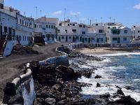 Touristen gibt´s hier kaum: Caleta de Famara.