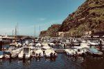 Mein neuer Hafen. Wieder Calheta, aber diesmal auf Madeira.