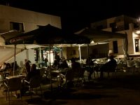 Nightlife in Caleta del Sebo, La Graciosa.
