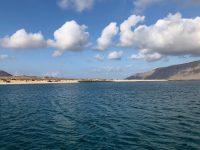 Der Playa Francesa, La Graciosa. Einsam ists...